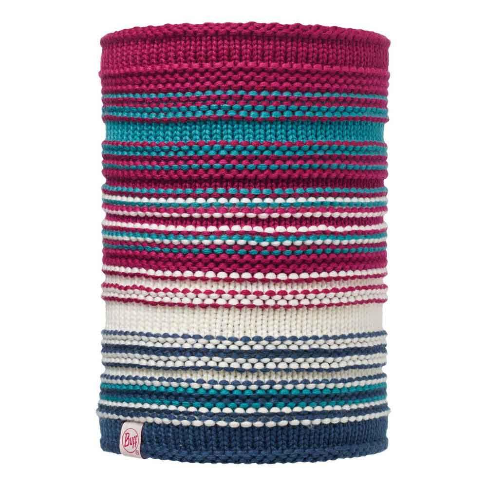 Buff ® Junior Knitted & Polar Neckwarmer One Size Amity Pink Cerisse