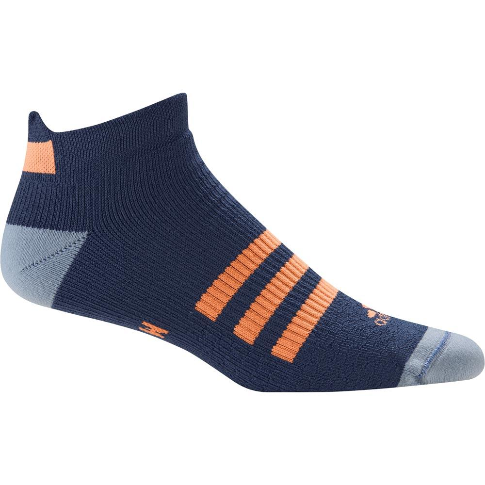 Adidas Tennis Id Liner 1 Pair Pack Socks EU 34-36 Mystic Blue / Glow Orange
