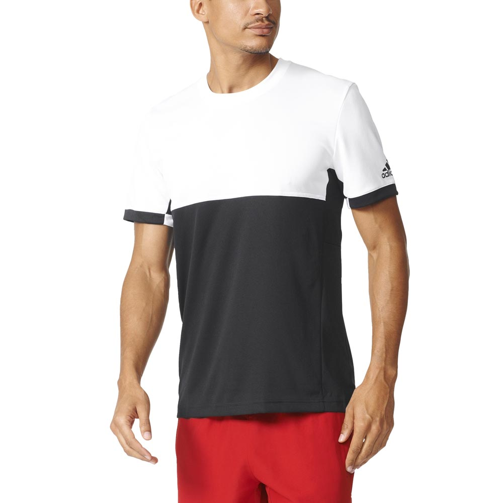 Adidas T16 Cc T Shirt S Black / White