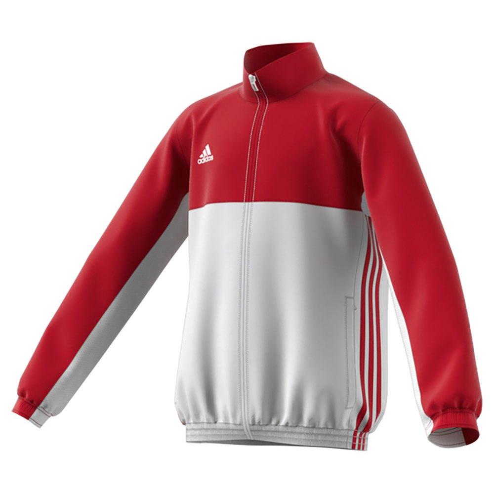 Adidas T16 Team Jacket 140 cm Power Red / White