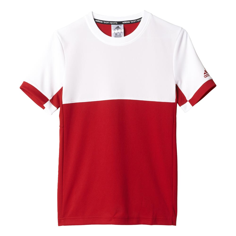 Adidas T16 Cc T Shirt 146 cm Power Red / White