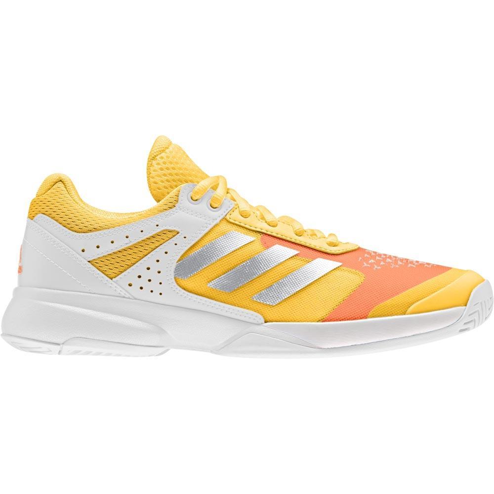 Adidas Adizero Court EU 40 Solid Gold / Matte Silver / Ftwr White