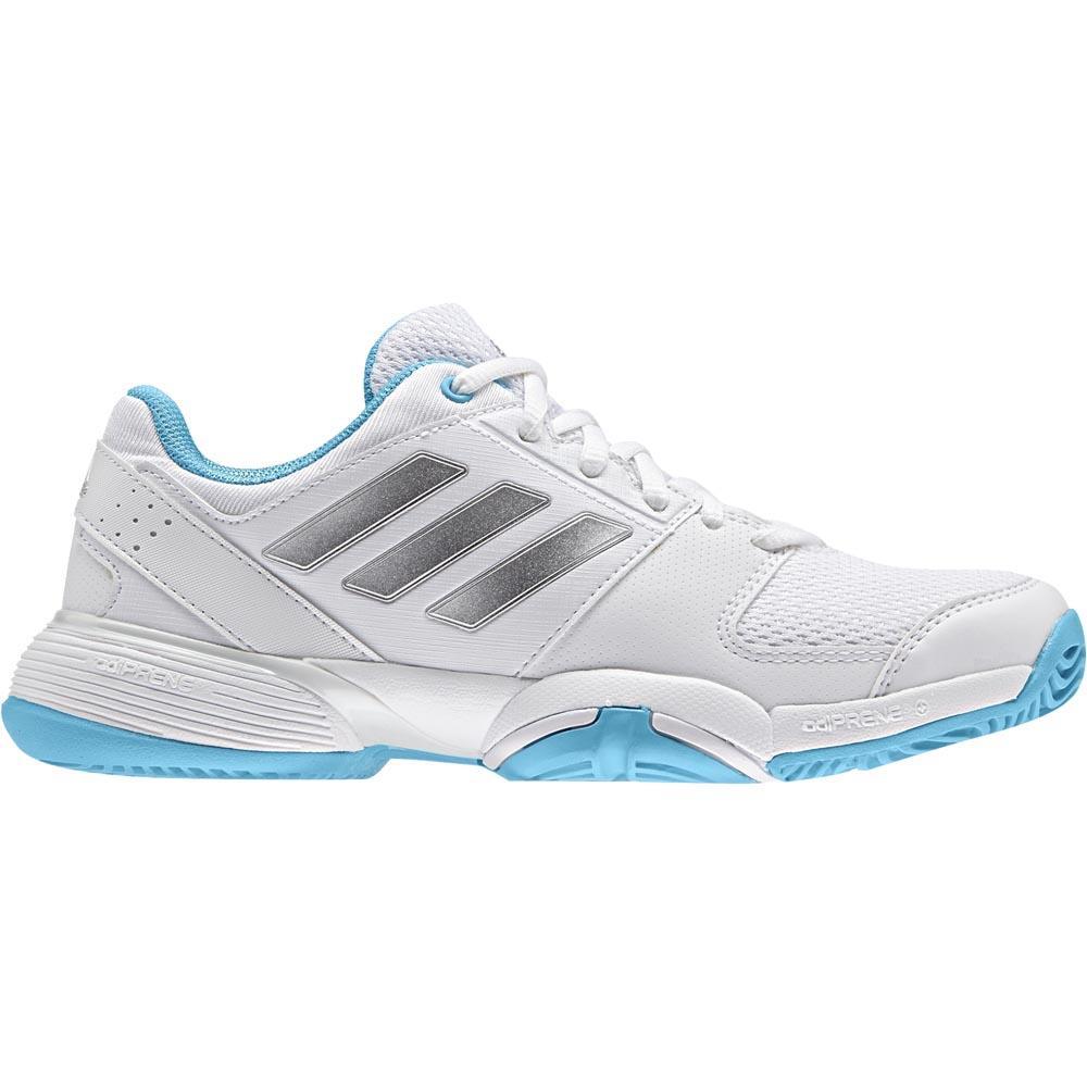 Adidas Barricade Club EU 32 Ftwr White / Matte Silver / Blue