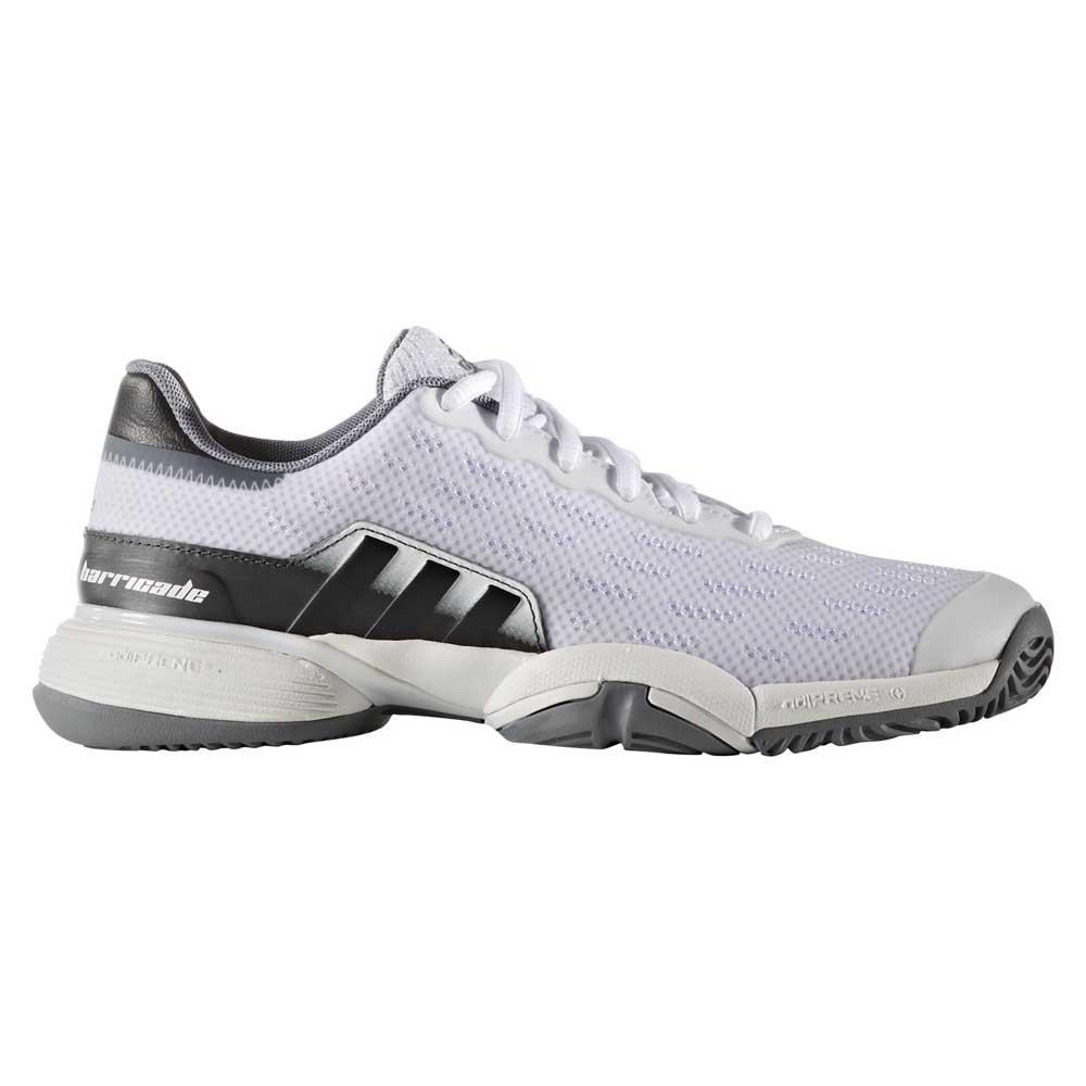 Adidas Chaussures Barricade EU 35 1/2 Ftwr White / Black / Grey