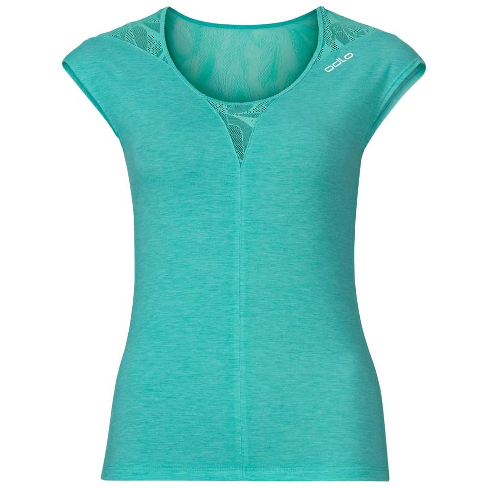 Odlo-Shirt-S-s-Crew-Revolution-Ts-X-Light-Verde-Magliette-Odlo-corsa