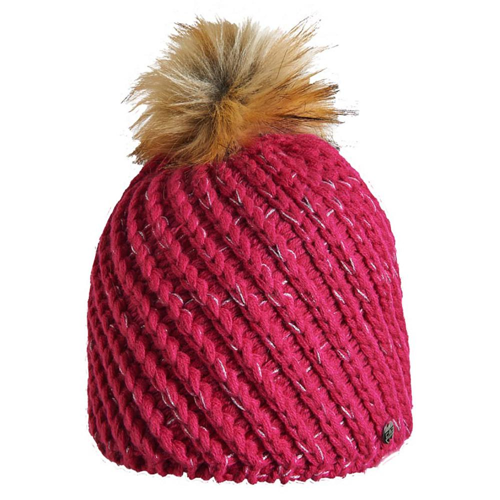 cmp-knitted-hat-one-size-berry
