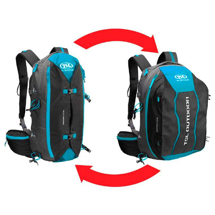 Tsl Outdoor Dragonfly 15/30l Backpack One Size Black / Blue
