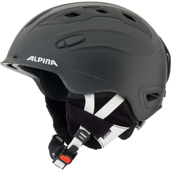 Alpina-Snowmythos-Black-Silk-Matt-Caschi-Alpina-sci-Protezioni