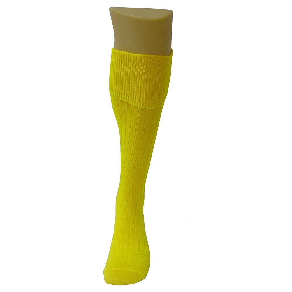 Mund Socks Football EU 36-40 Yellow