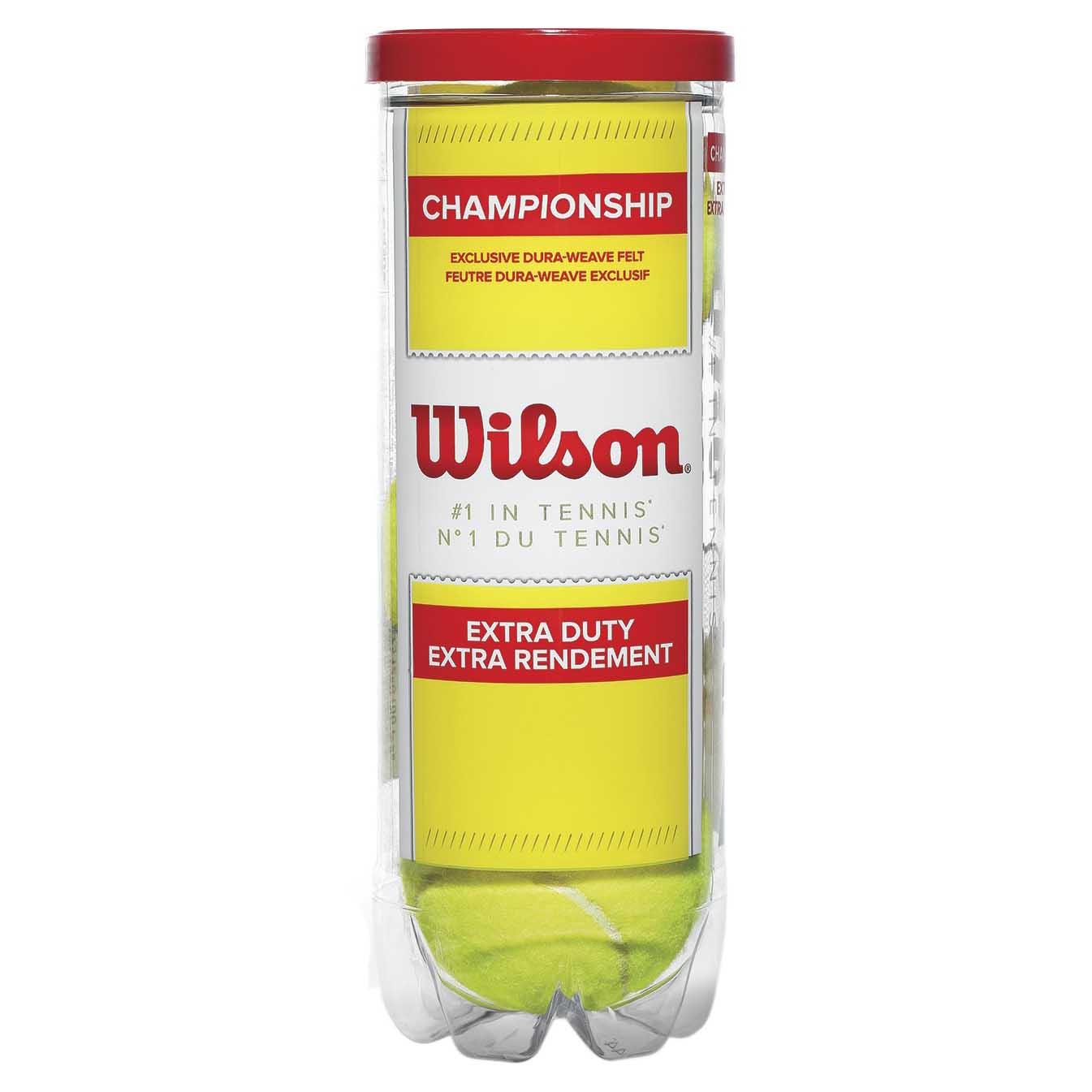Wilson Champion Xd 3 Balls Yellow