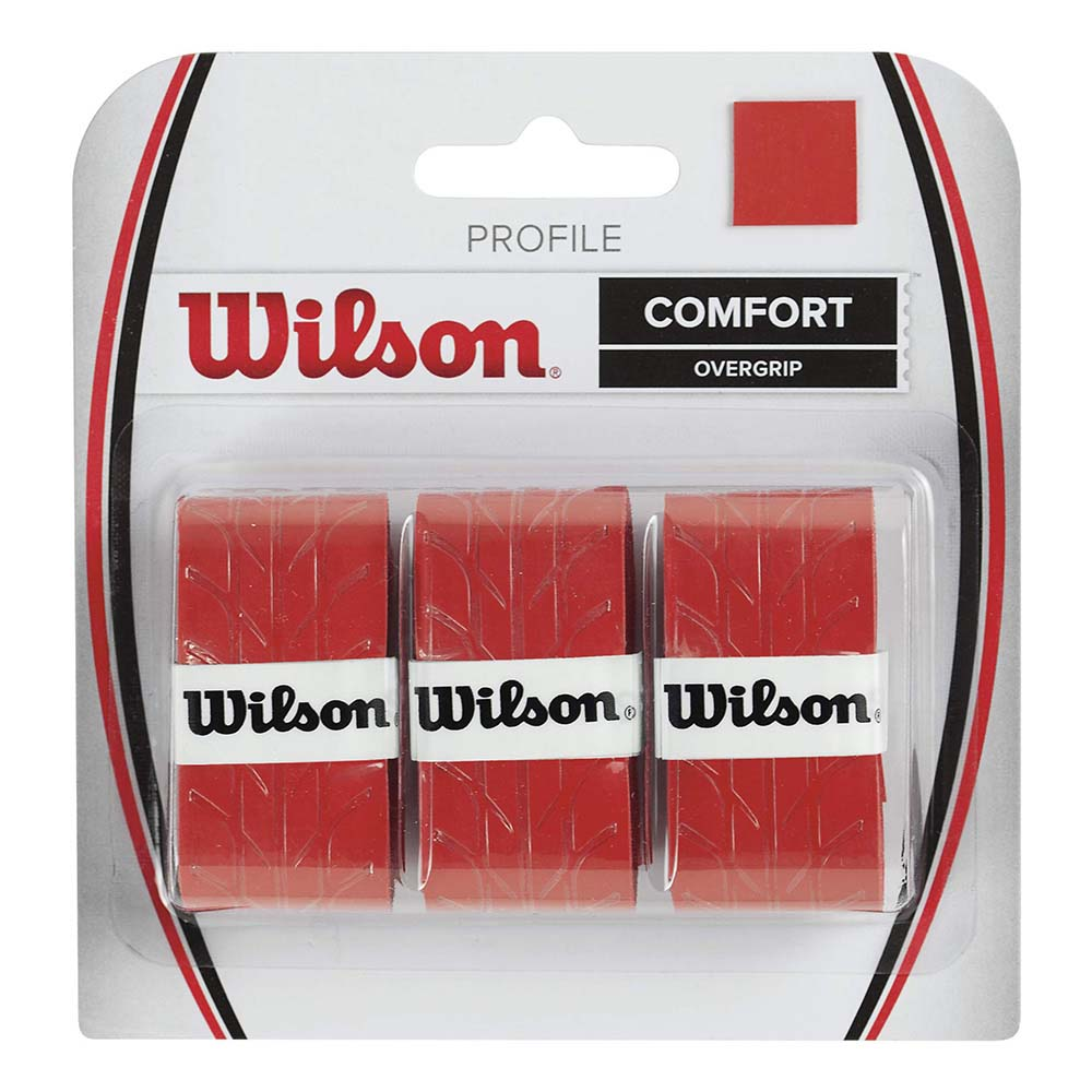 Wilson Profile 3 Units One Size Red