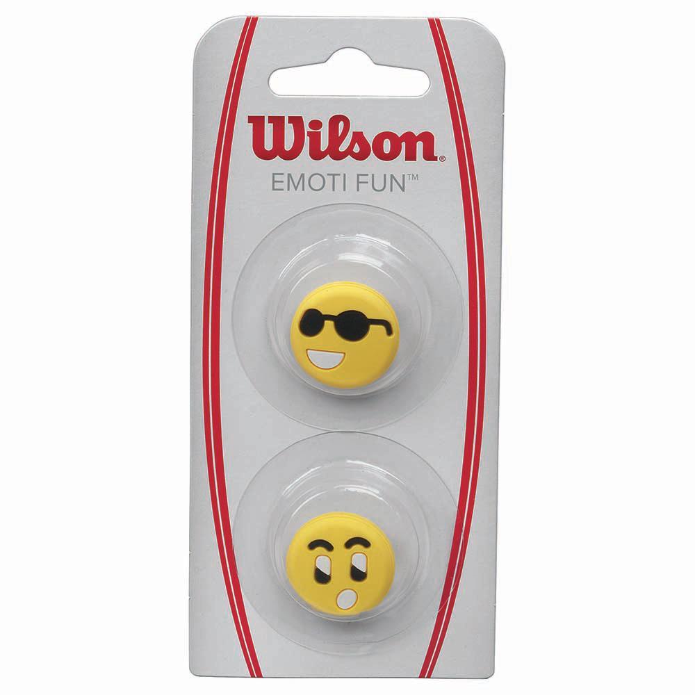 Wilson Emoti Fun Sun Glasses Surprised 2 Units One Size Yellow