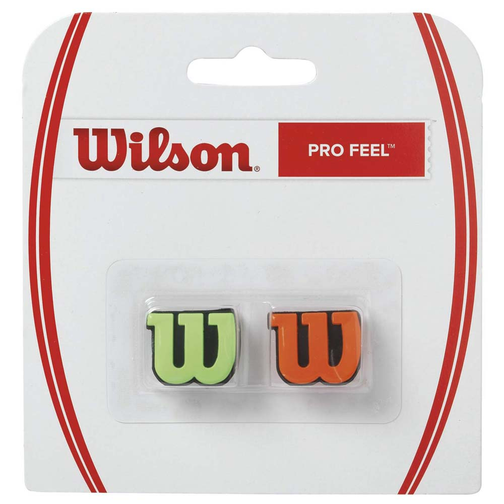 Wilson Pro Feel 2 Units One Size Green / Orange