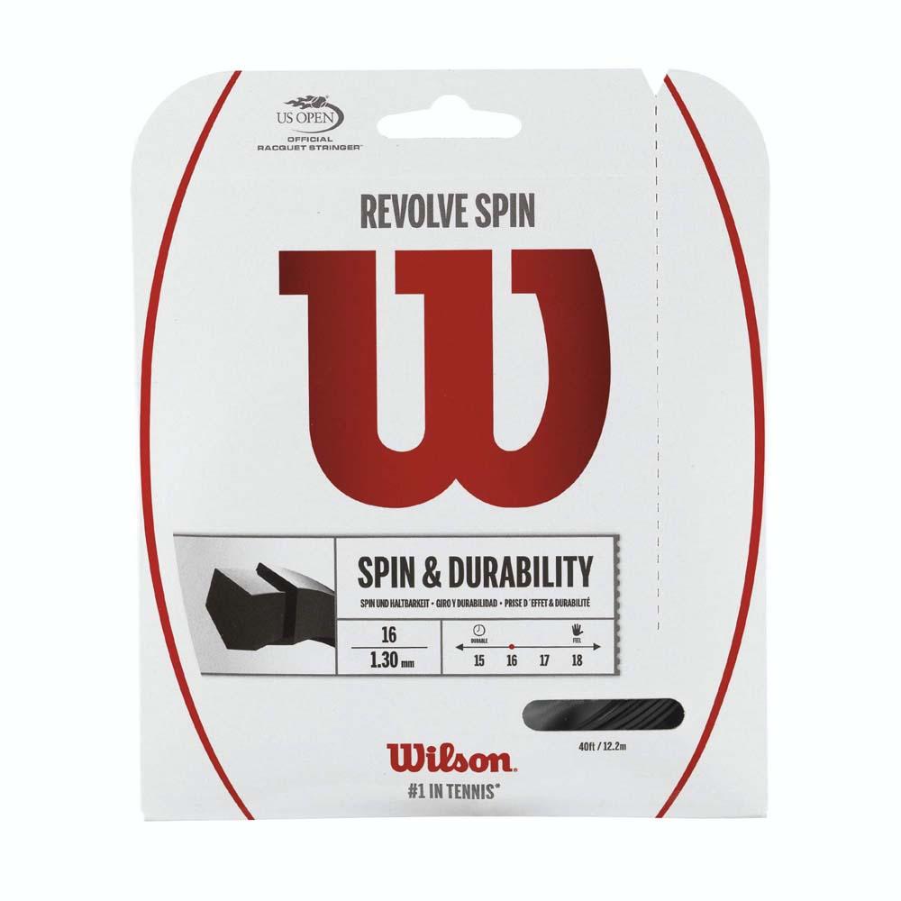 Wilson Revolve Spin 12.2 M 1.25 mm Black
