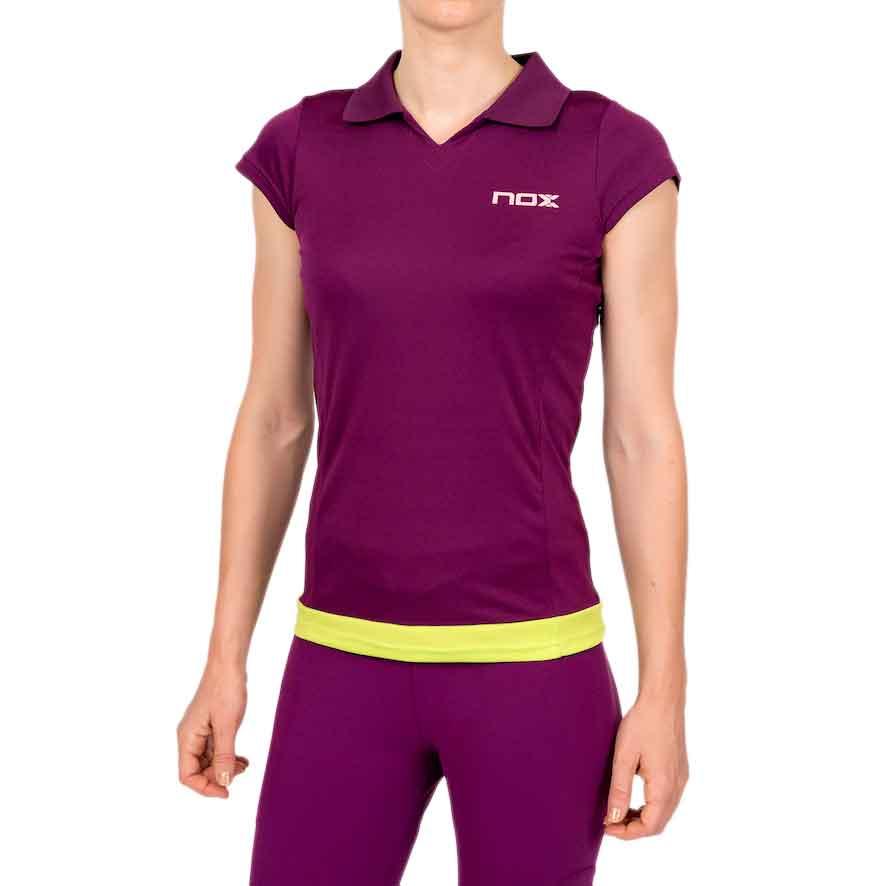 Nox Poloshirt S Purple