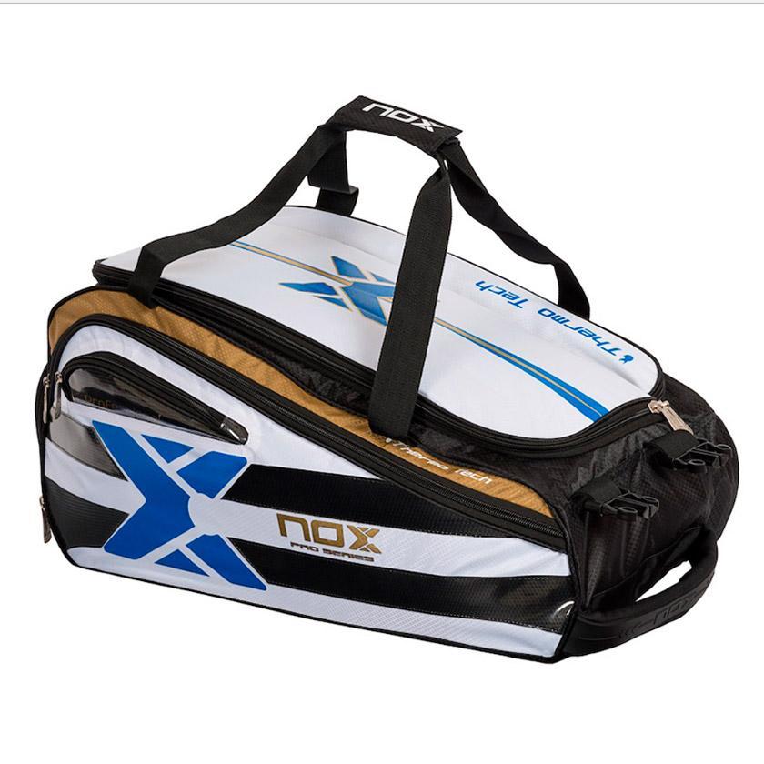 Nox Sac Raquette Padel Elite One Size White / Black / Blue