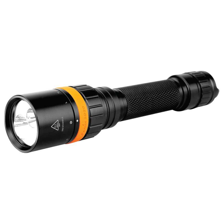 Fenix Sd20 Underwater 1000 Lumens Black Beleuchtung Sd20 Underwater