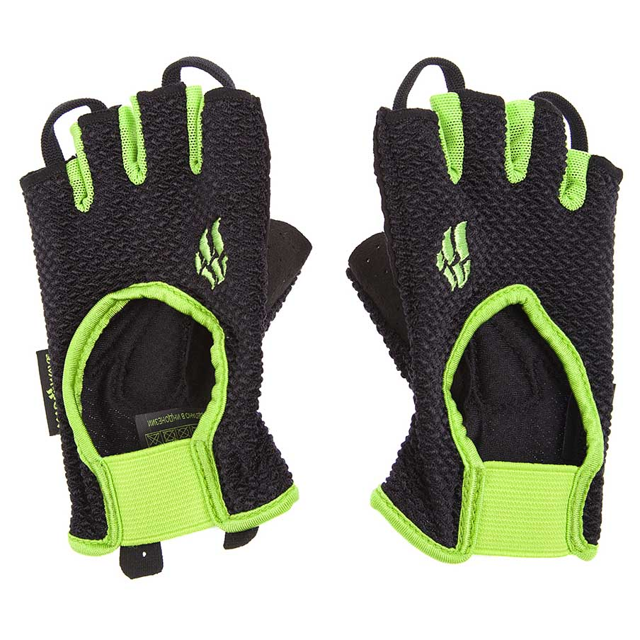 Madwave Fitness Gloves XS Black / Green