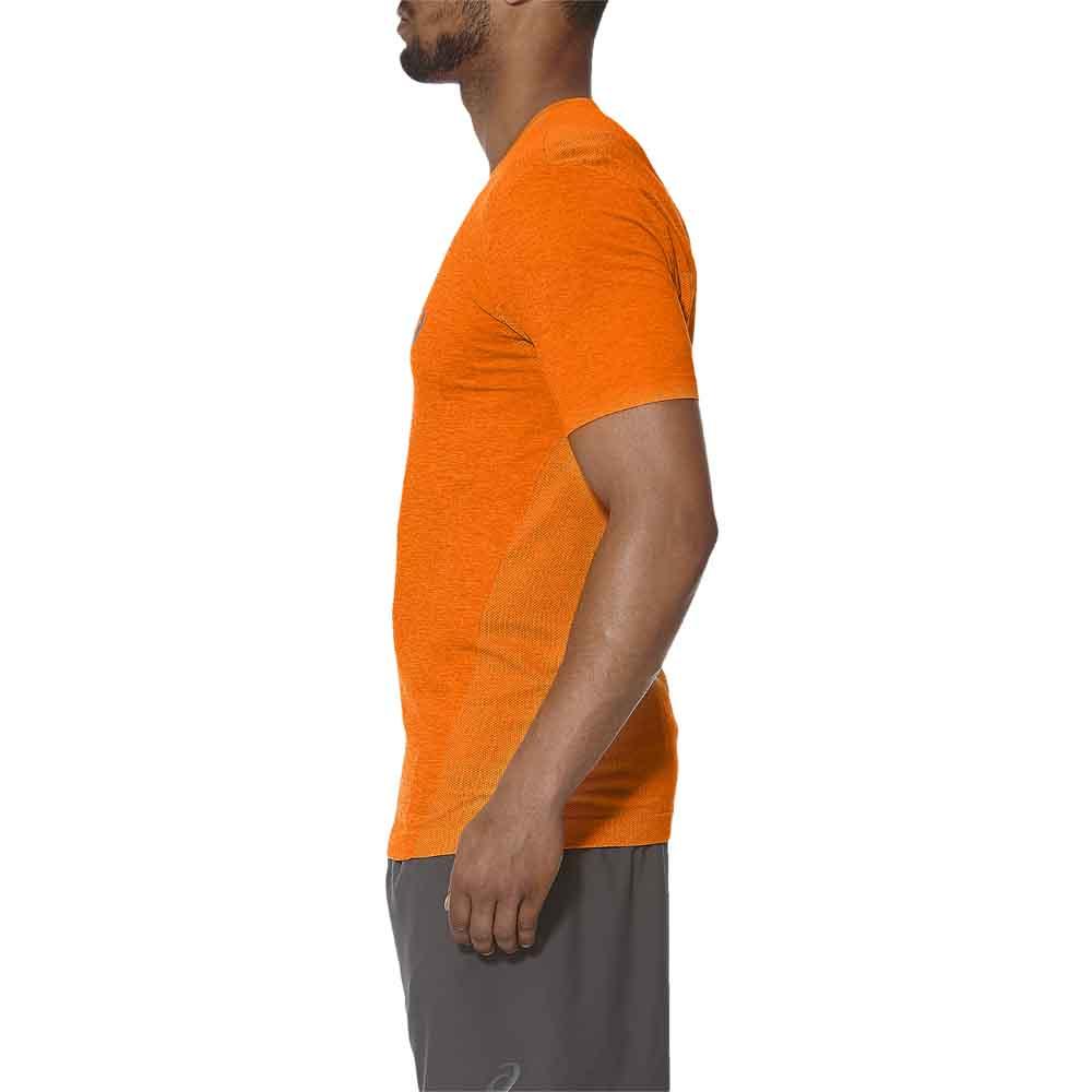 Détails sur Asics Seamless Orange T14394 T Shirts Homme Orange , T Shirts Asics , running