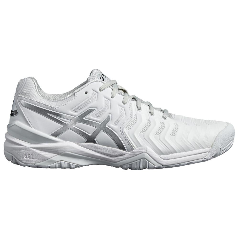 Asics Gel Resolution 7 EU 44 White / Silver