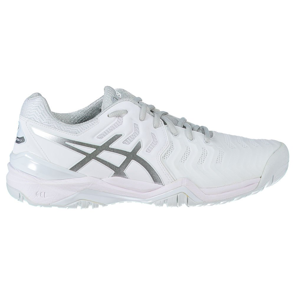 Asics Gel Resolution 7 EU 44 1/2 White / Silver
