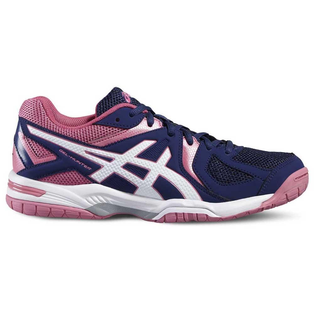 Asics Chaussures Indoor Gel Hunter 3 EU 42 Indigo Blue / White / Azalea Pink