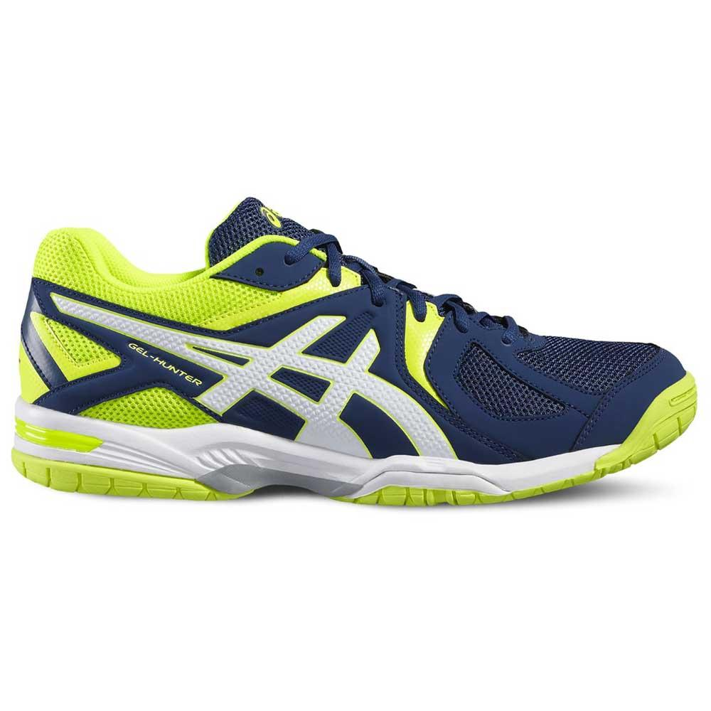 Asics Gel Hunter 3 EU 44 Poseidon / White / Safety Yellow