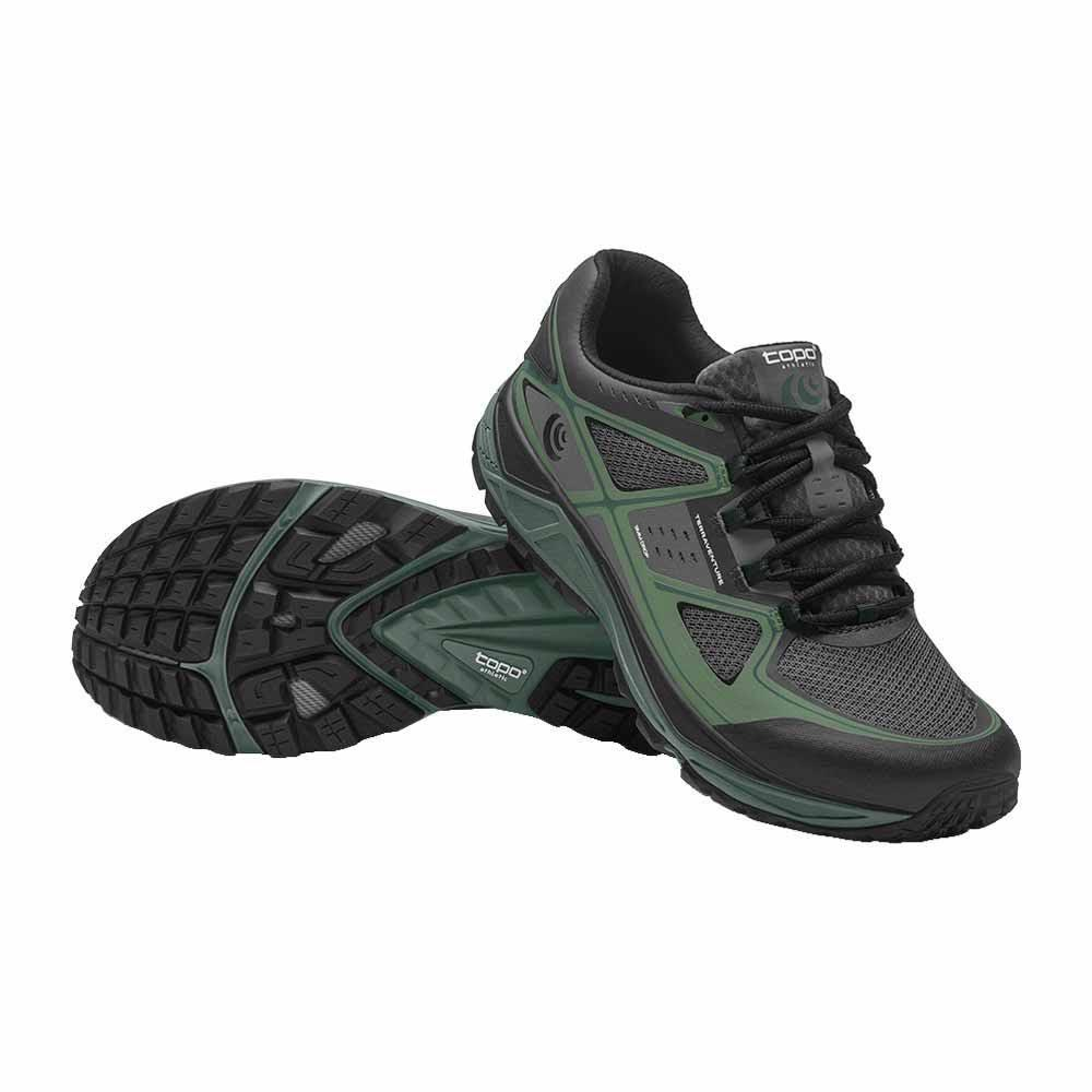 Topo Athletic Terraventure EU 42 Charcoal / Green