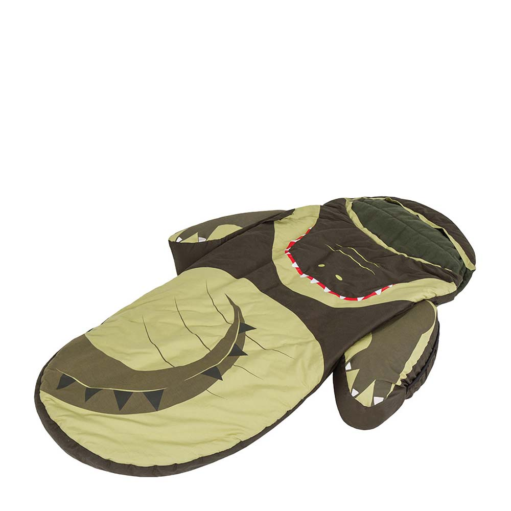 Littlelife Crocodile Animal Snuggle Pod 3-4 Years Green