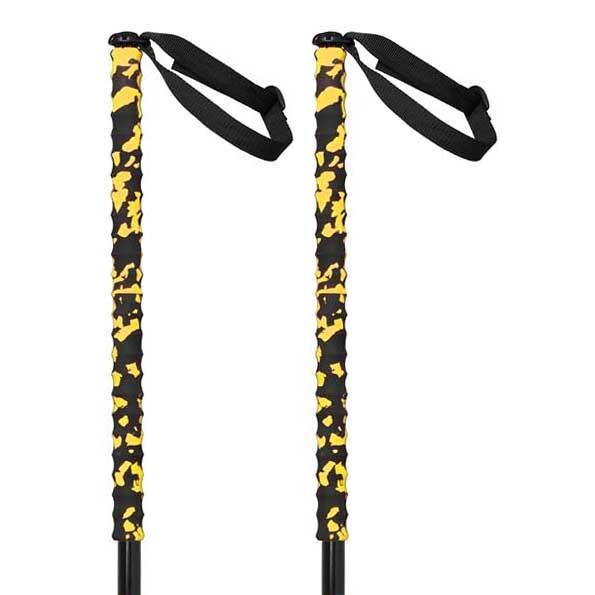 Grivel Trail One 2 Units 112 cm Black / Yellow