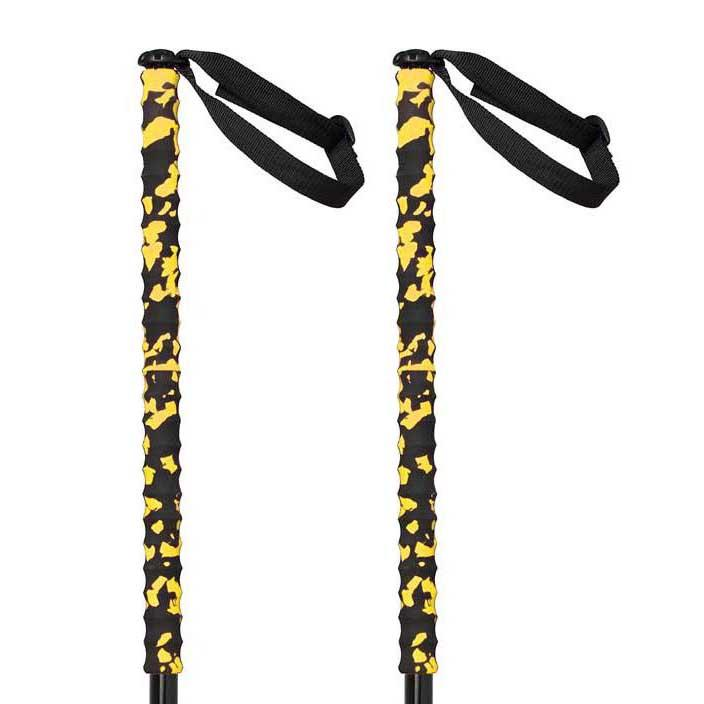 Grivel Trail Two 2 Units 112 cm Black / Yellow