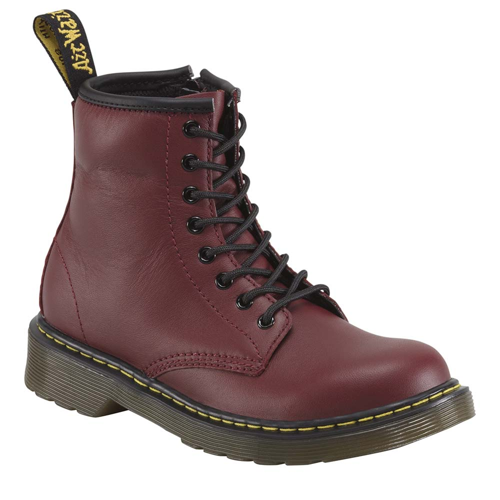 Dr Martens Delaney Lace Softy T EU 28 Cherry Red
