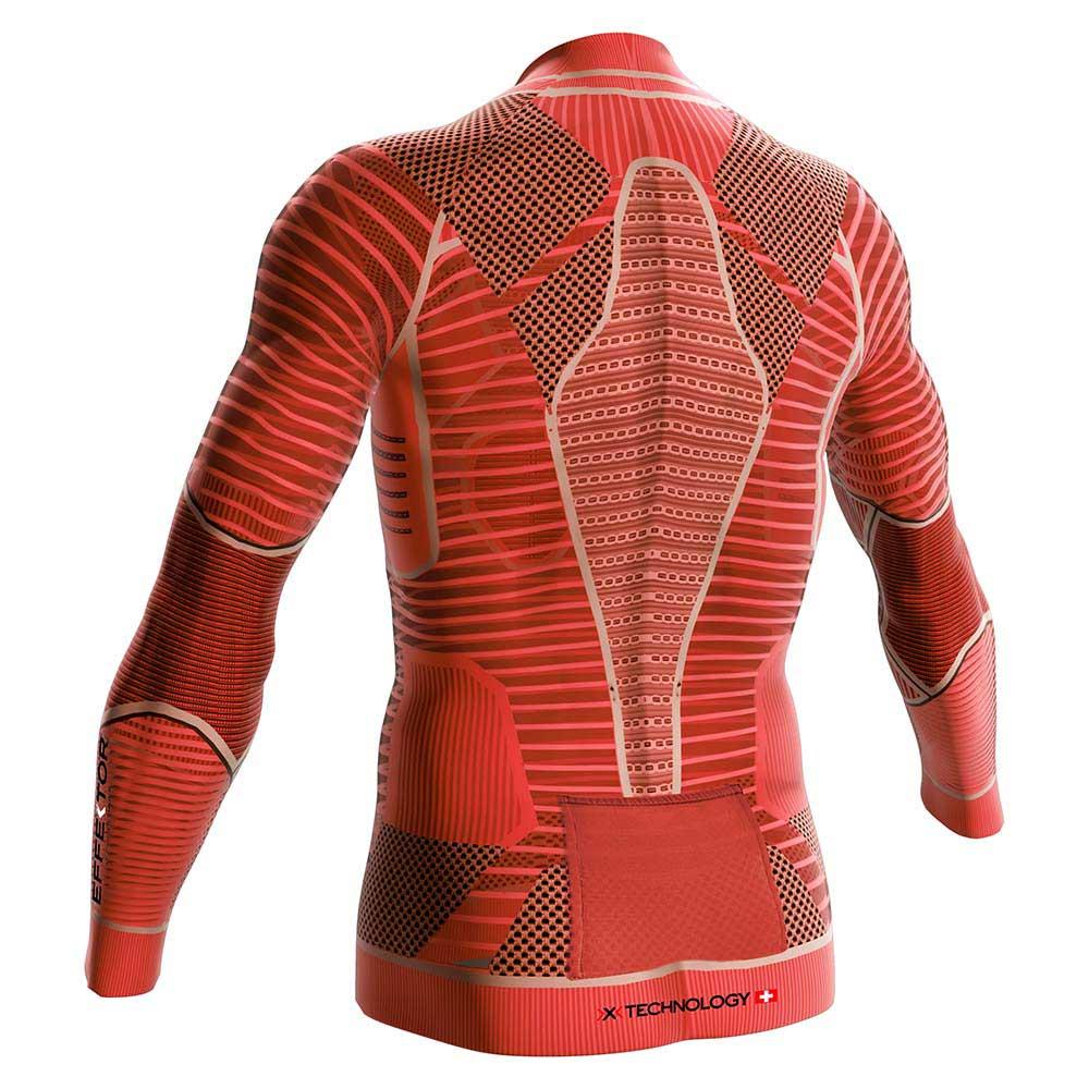 Nero X bionico Magliette Running Effektor Paprika Trail Zip xPwzPRYq