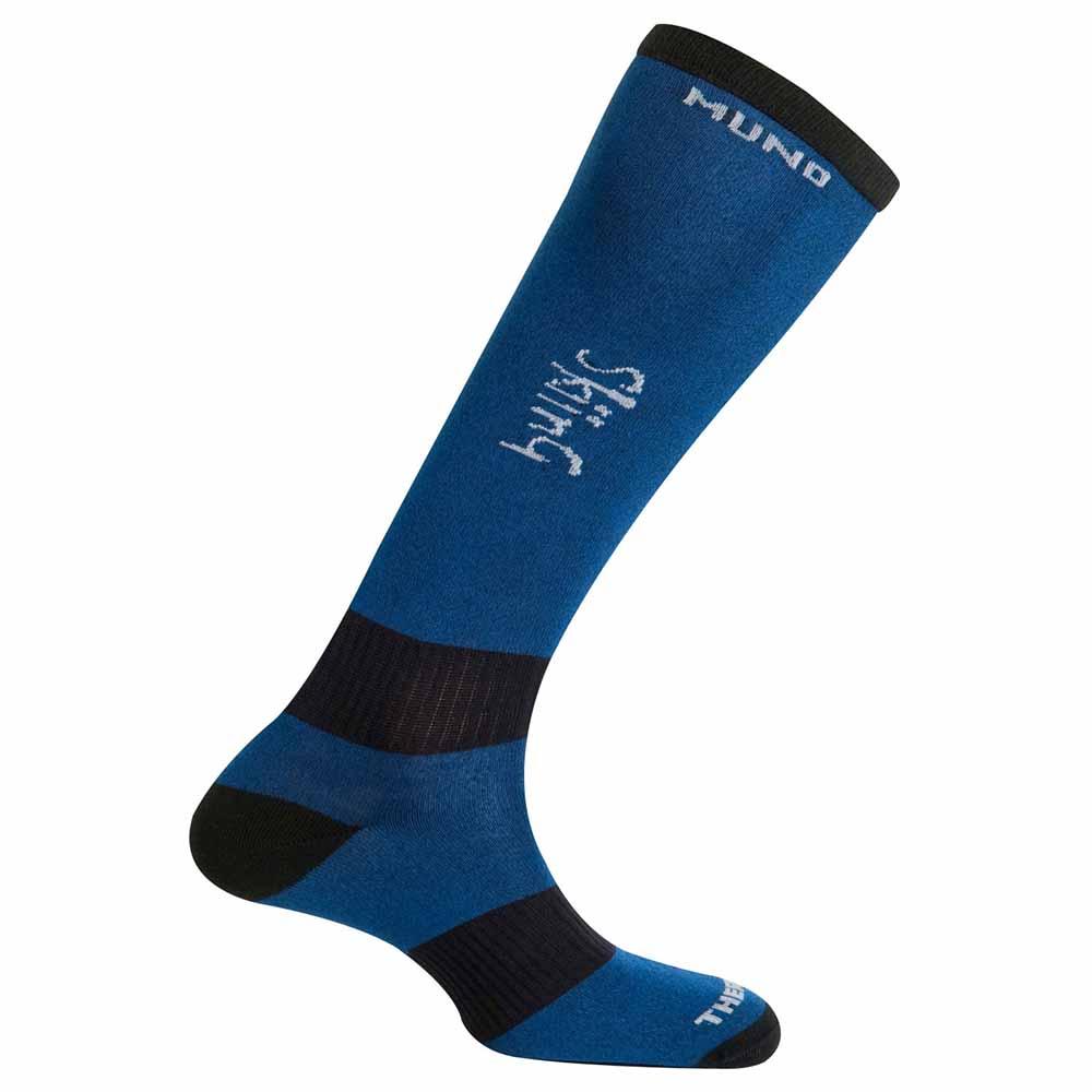 mund-socks-skiing-thermolite-eu-42-45-blue