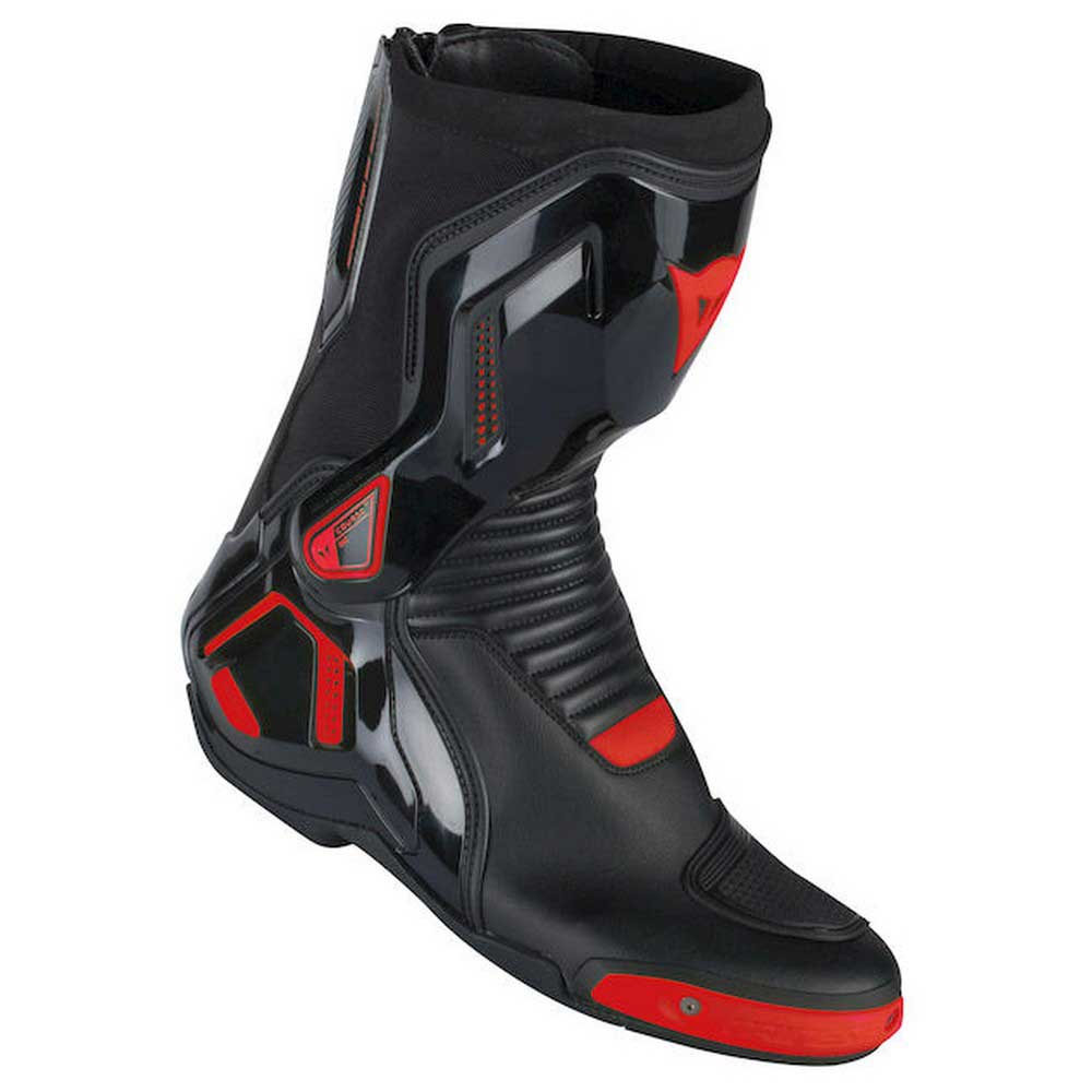 Dainese Course D1 Out Boots EU 40 Black / Red Fluo