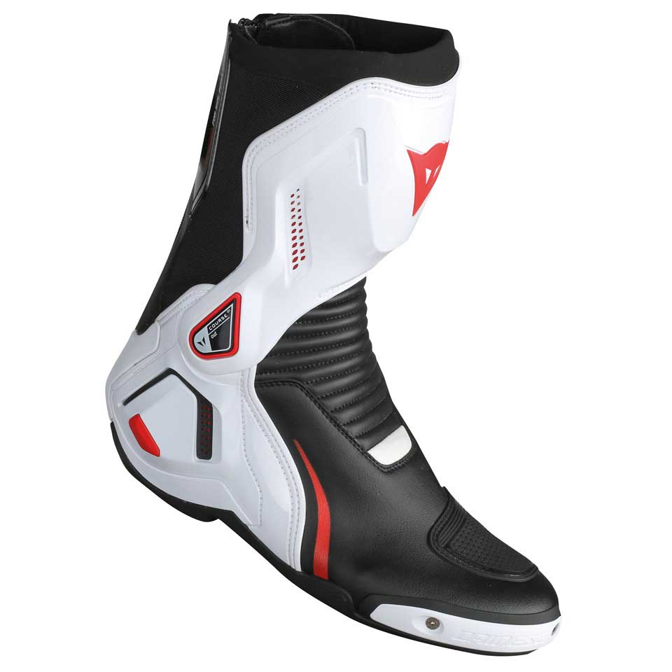 Dainese Course D1 Out Boots EU 47 Black / White / Red Lava