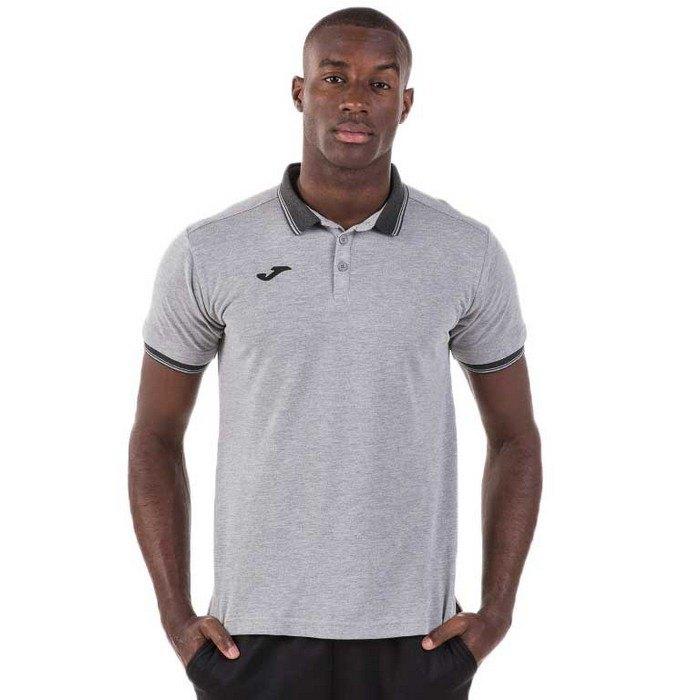 Joma Bali Ii Short Sleeve Polo Shirt XXXL Grey