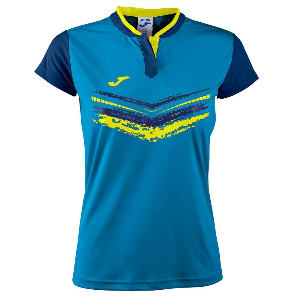 Joma Terra Ii Short Sleeve T-shirt XL Royal