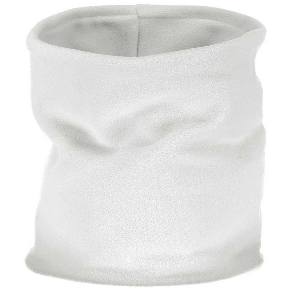 Cmp Fleece Neckwarmer One Size White / Argento