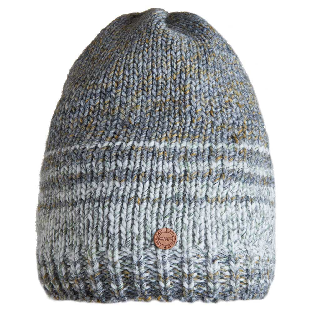 cmp-knitted-hat-one-size-grigio-fossile
