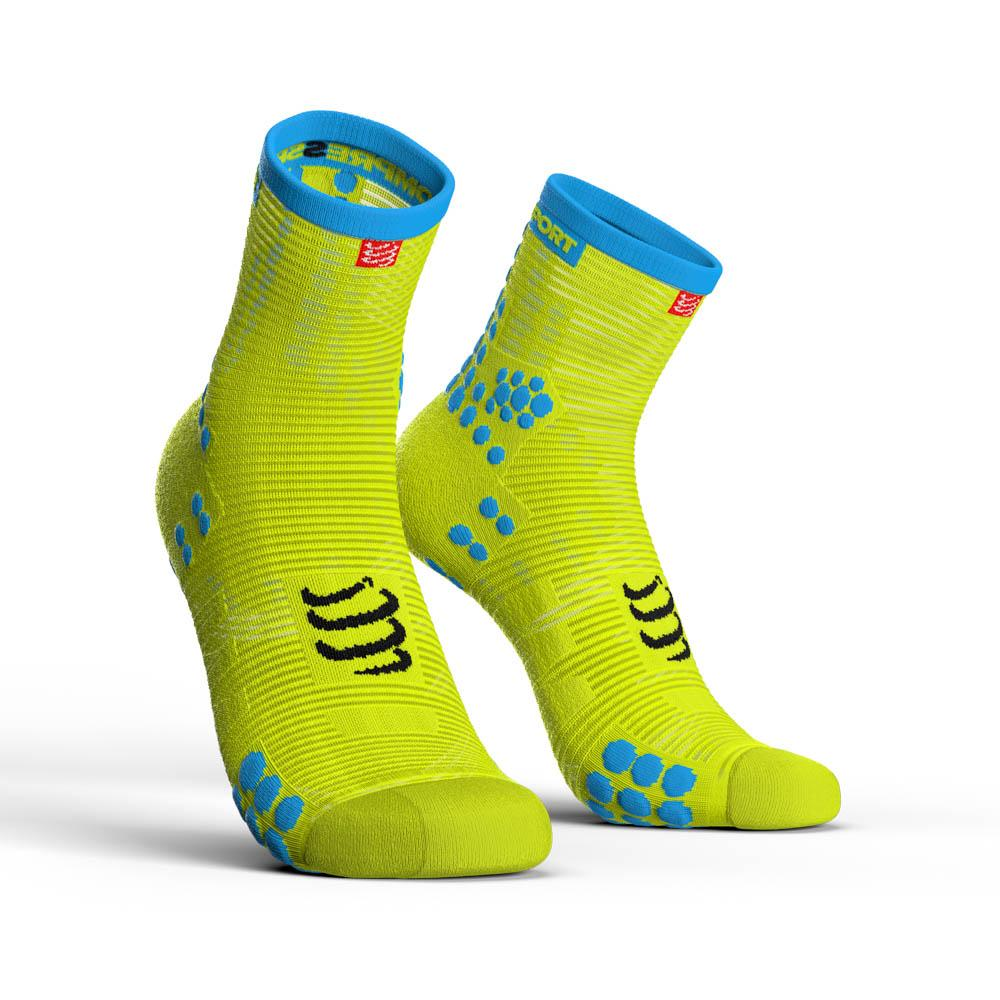 compressport-racing-socks-v3-0-run-hi-eu-45-48-yellow