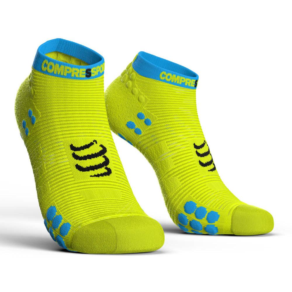 compressport-racing-socks-v3-0-run-lo-eu-45-48-yellow