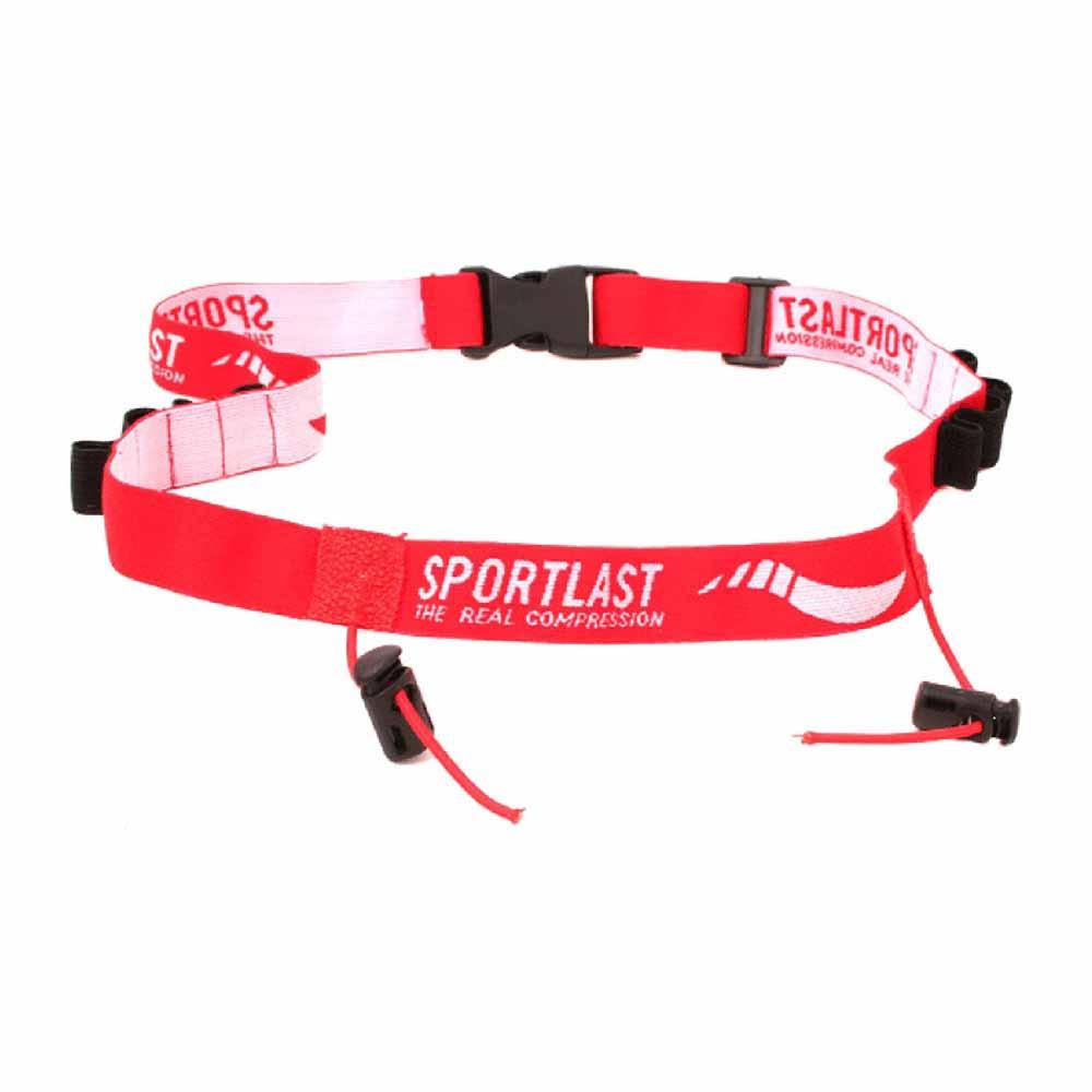 Sportlast Number Belt One Size Red
