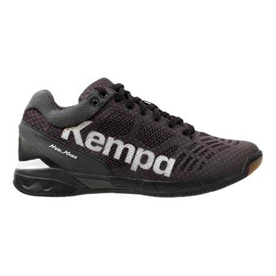 White Baskets Football Midcut Attack Kempa Black Chaussures Homme awqFRft