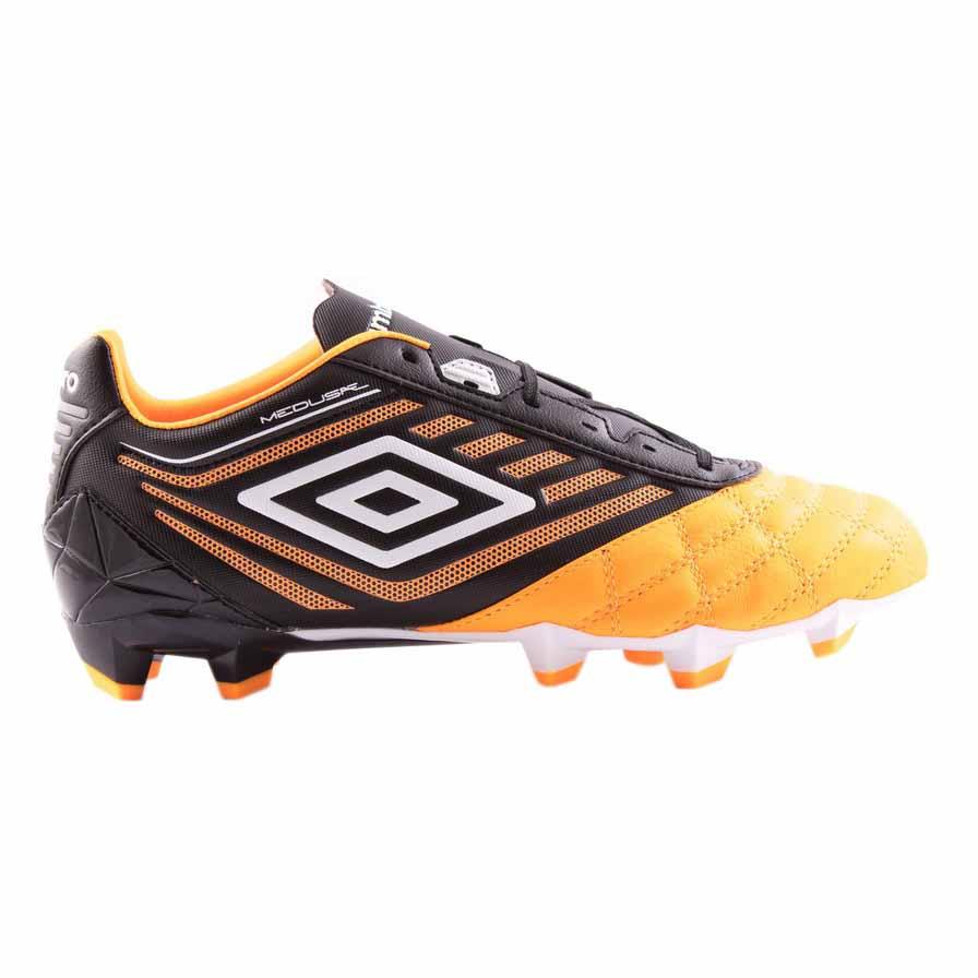 Umbro Chaussures Football Medusæ Premier Hg EU 44 1/2 Orange Pop / White / Black