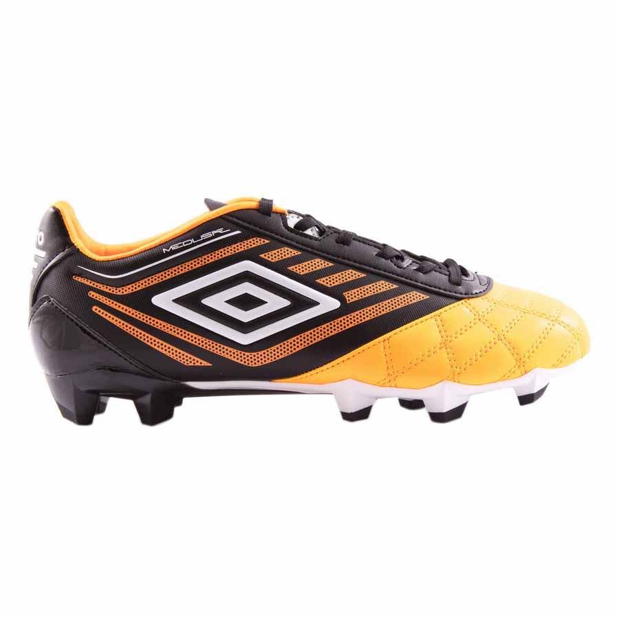 Umbro Chaussures Football Medusæ Club Hg EU 44 1/2 Orange Pop / White / Black
