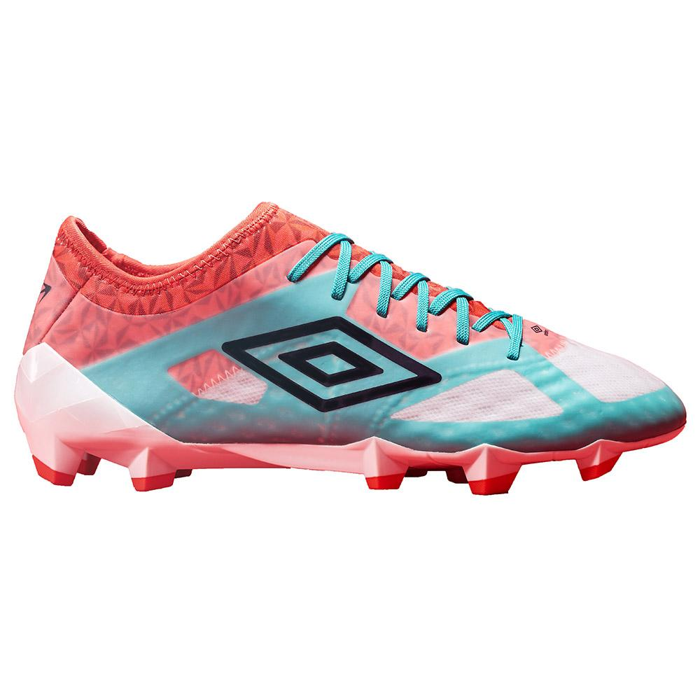 Umbro Chaussures Football Velocita Iii Pro Hg EU 44 Dawn Blue / Carbon / Fiery Red / Spectra Green