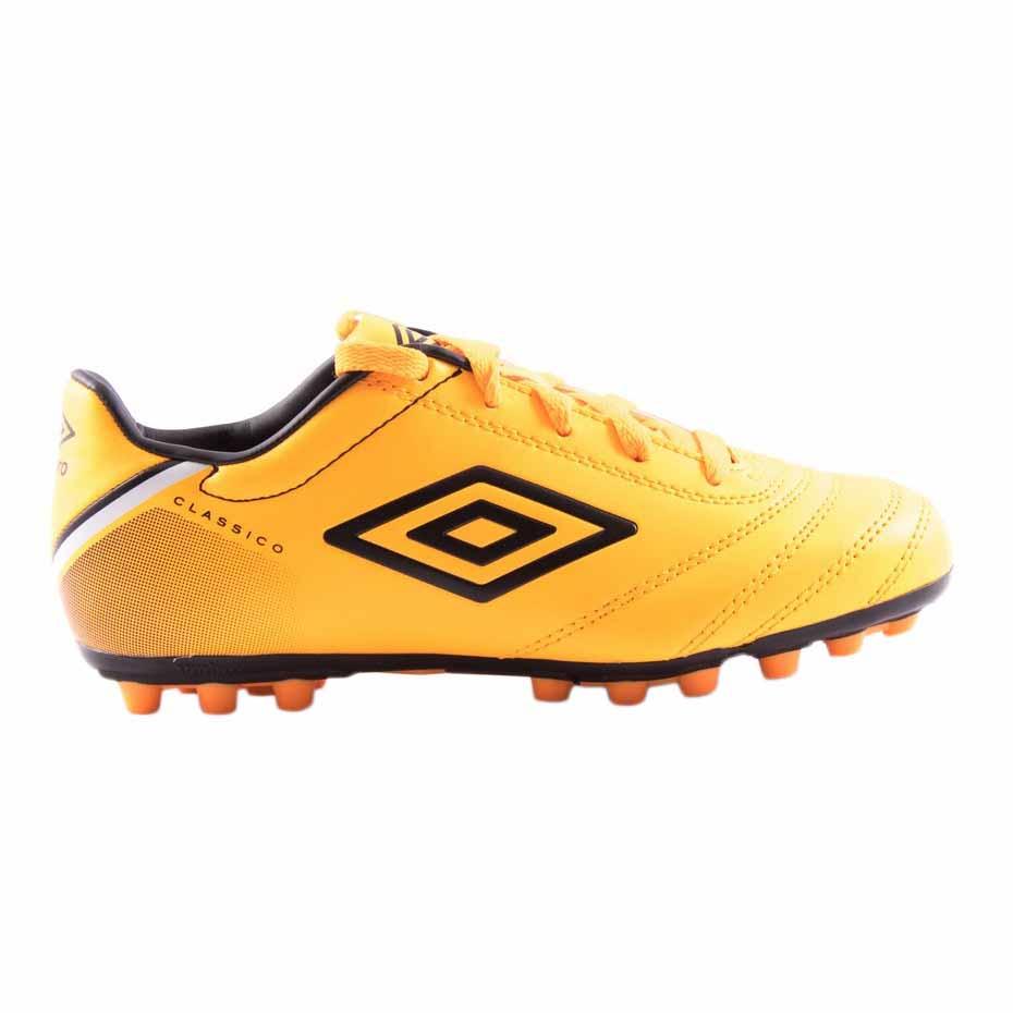 Umbro Classico V Ag Football Boots EU 36 1/2 Orange Pop / White / Black