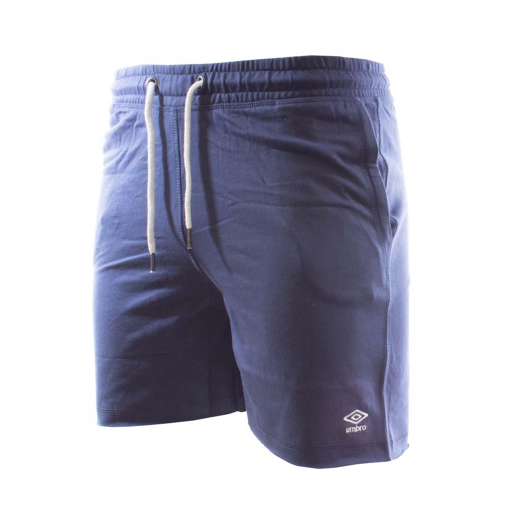 Umbro Cotton Small Logo Short Pants S Navy