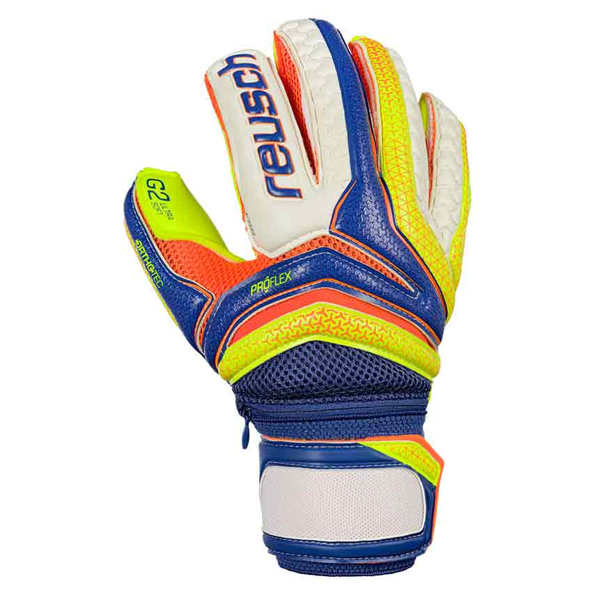Reusch Serathor Pro G2 Ortho Tec 9 1/2 Dazzling Blue / Safety Yellow / Safety Yellow